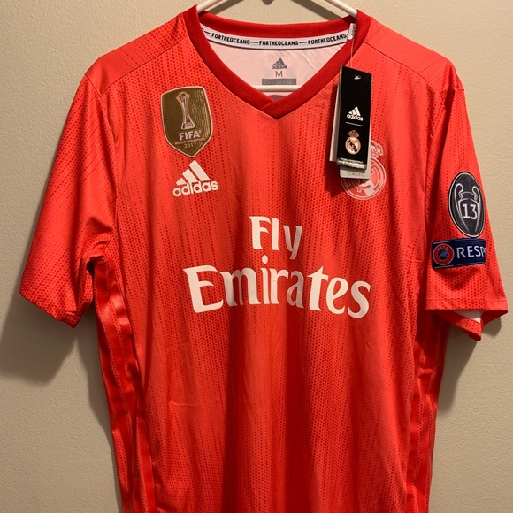 b34535a1468 Adidas Real Madrid Authentic Third Jersey Medium